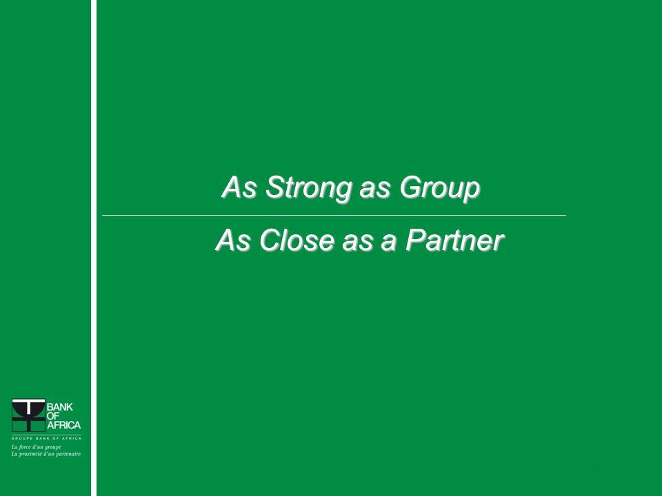 20 As Strong as Group As Close as a Partner As Close as a Partner Confidential