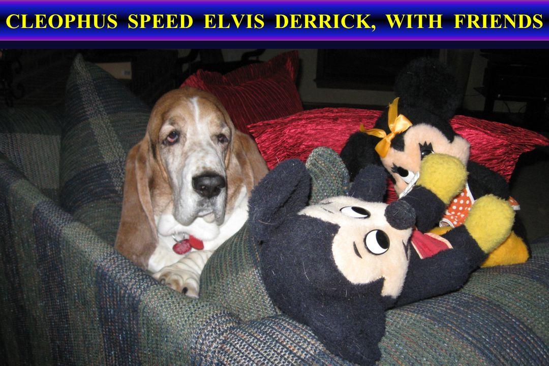 CLEOPHUS SPEED ELVIS DERRICK, WITH FRIENDS