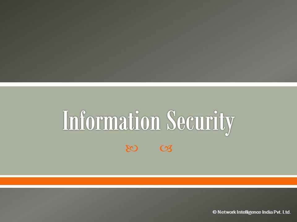 © Network Intelligence India Pvt. Ltd.