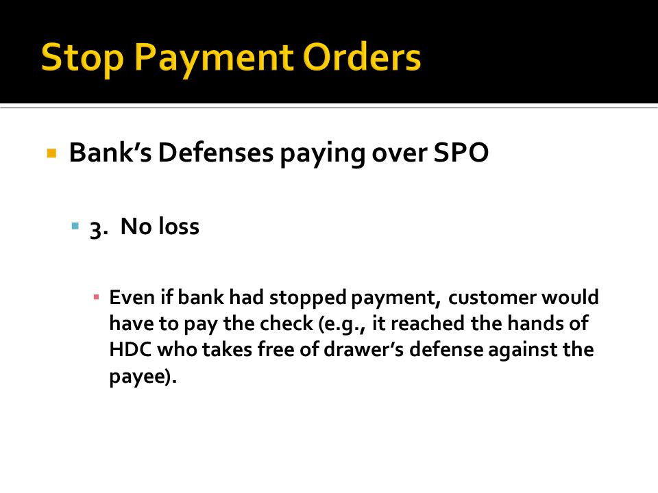 Banks Defenses paying over SPO 3.