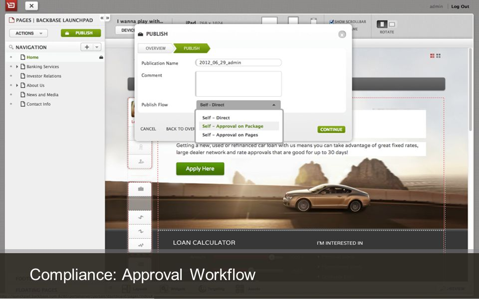 Customer Experience Solutions. Delivered. 29 Compliance: Approval Workflow