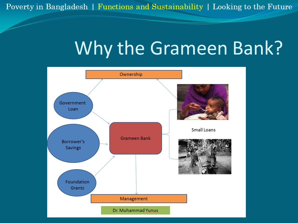 Why the Grameen Bank Poverty in Bangladesh | Functions and Sustainability | Looking to the Future