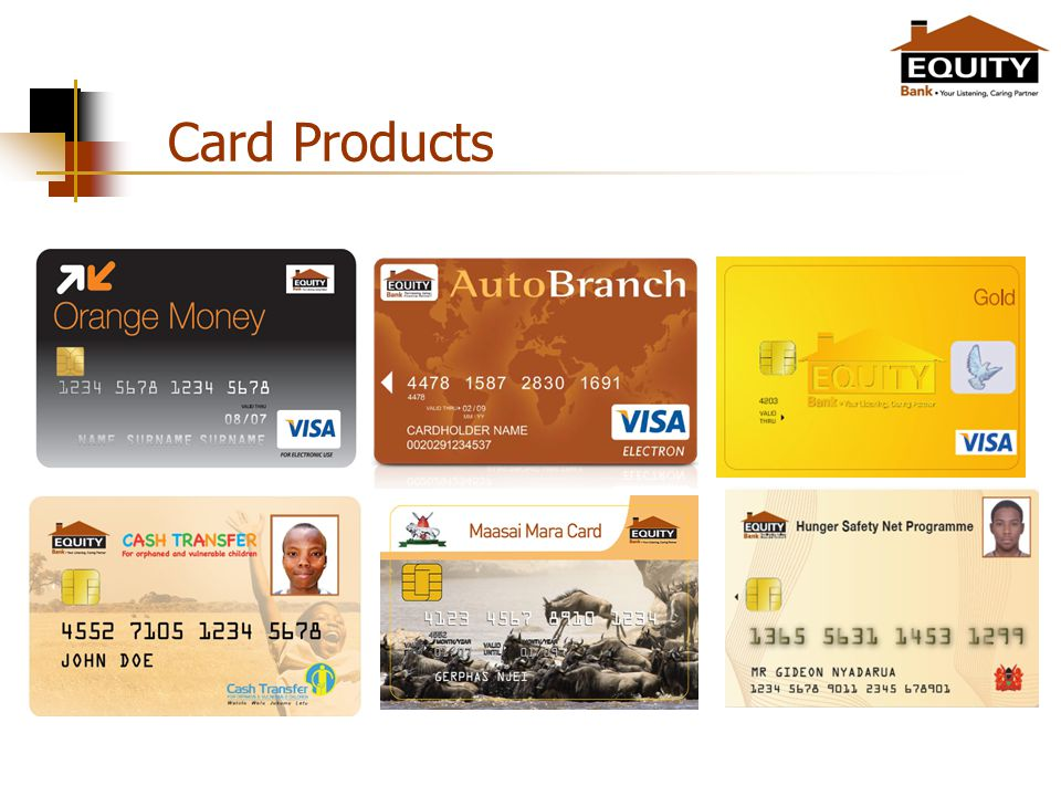 Card Products