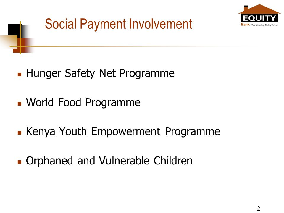Social Payment Involvement Hunger Safety Net Programme World Food Programme Kenya Youth Empowerment Programme Orphaned and Vulnerable Children 2