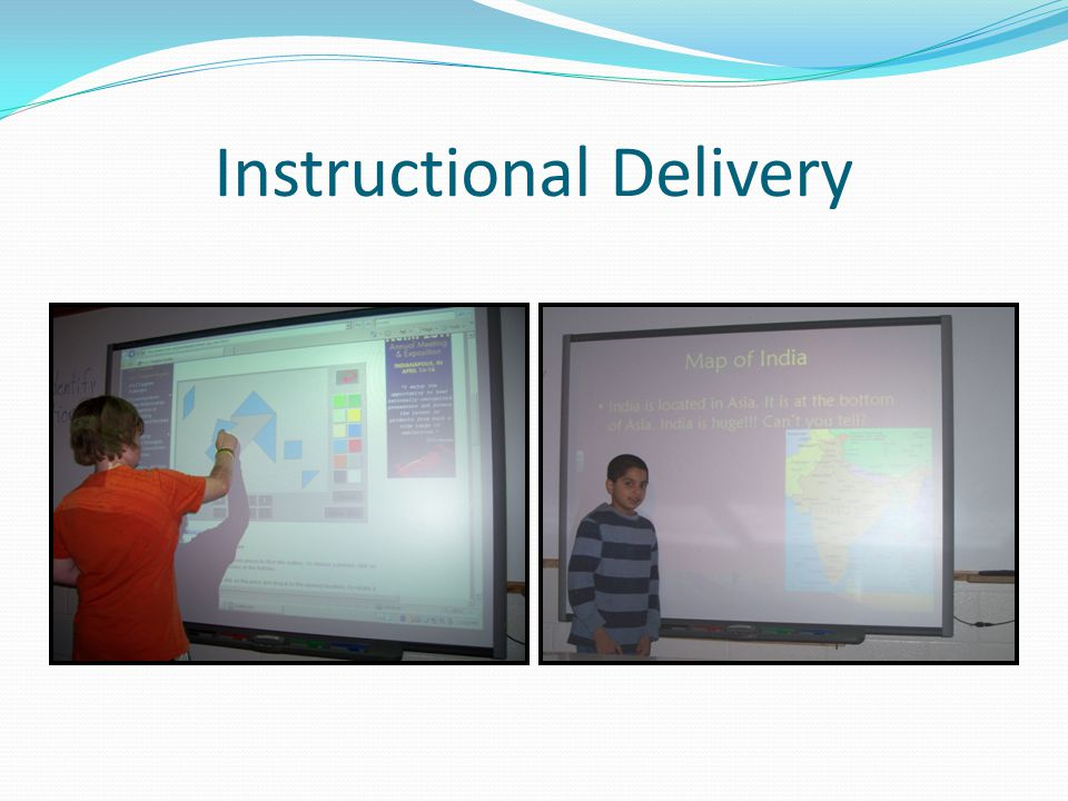 Instructional Delivery