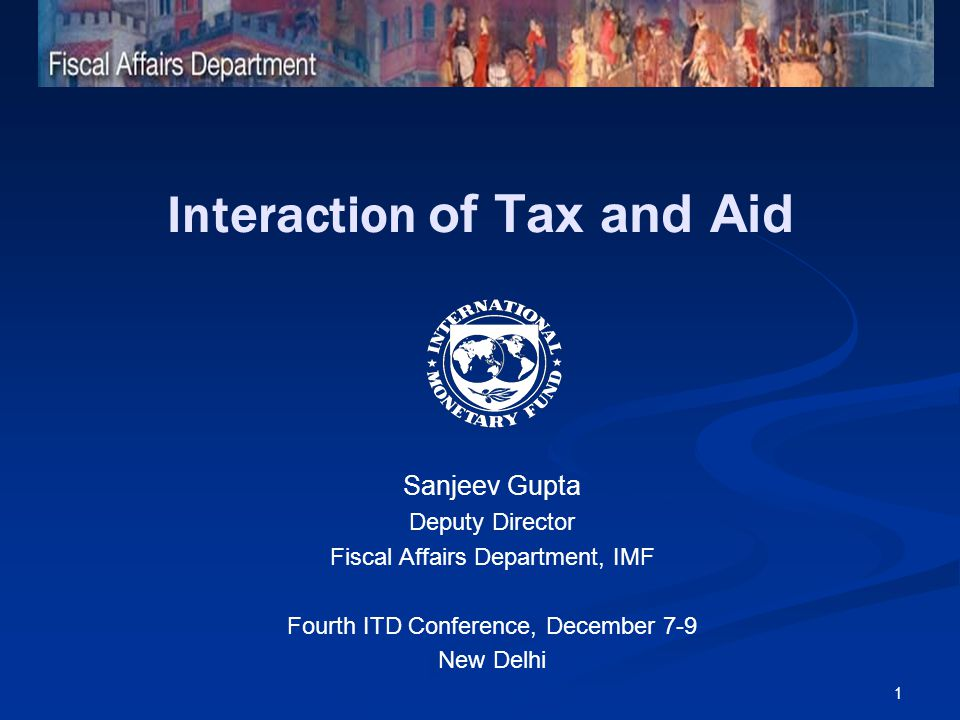2 Relevance Trends in tax revenues and aid flows Empirical findings Another dimension Policy conclusions Outline