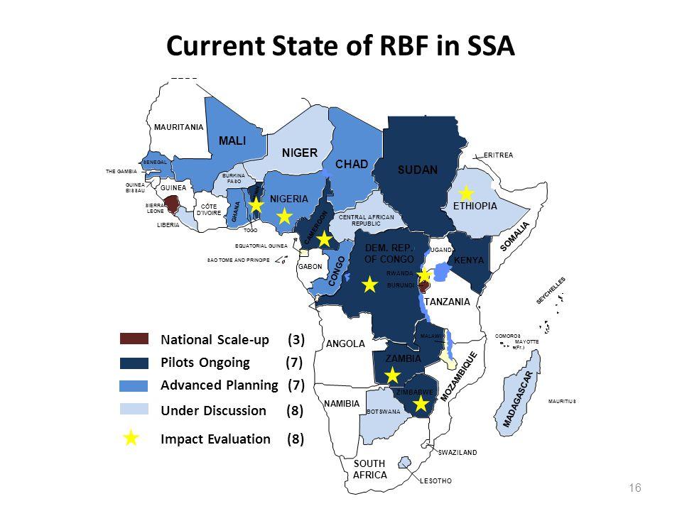 16 MAURITANIA MALI SENEGAL THE GAMBIA GUINEA BISSAU GUINEA SIERRA LEONE LIBERIA CÔTE DIVOIRE BURKINA FASO GHANA TOGO BENIN NIGERIA NIGER CHAD SUDAN CAMEROON CENTRAL AFRICAN REPUBLIC ERITREA ETHIOPIA SOMALIA KENYA UGANDA RWANDA BURUNDI CONGO GABON EQUATORIAL GUINEA SAO TOME AND PRINCIPE ANGOLA NAMIBIA BOTSWANA ZAMBIA TANZANIA MALAWI ZIMBABWE MOZAMBIQUE SOUTH AFRICA SWAZILAND LESOTHO MADAGASCAR MAURITIUS COMOROS MAYOTTE (Fr.) SEYCHELLES DEM.