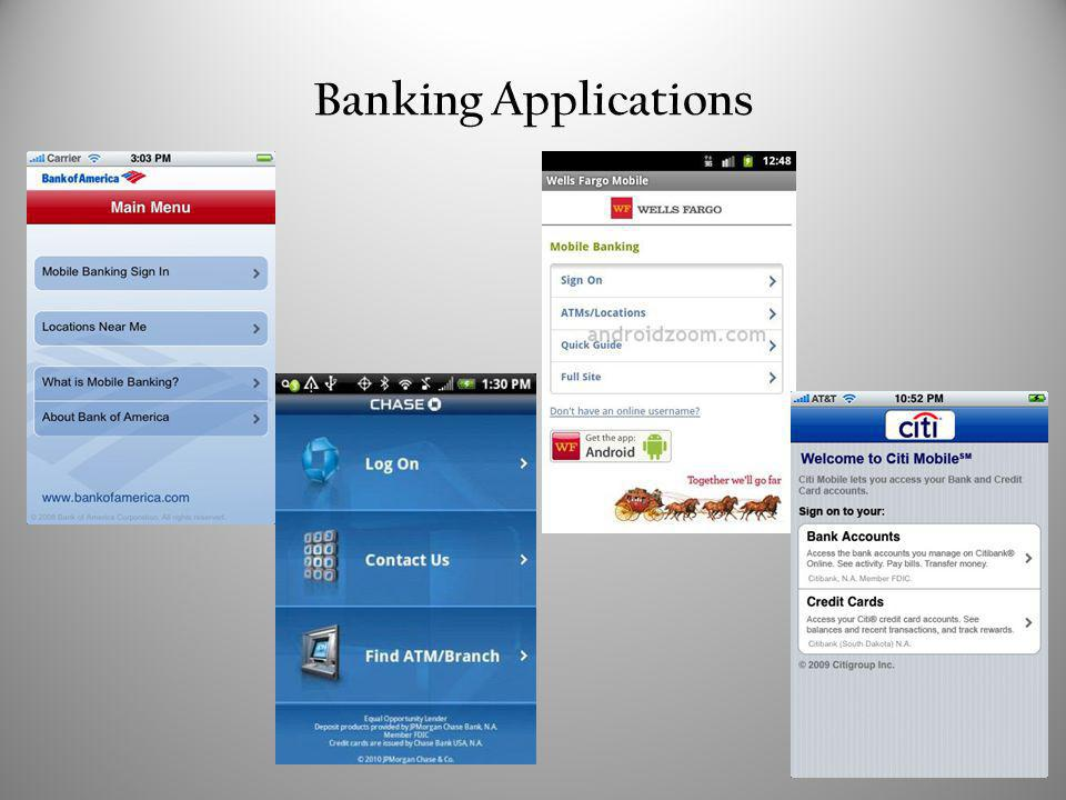 Banking Applications