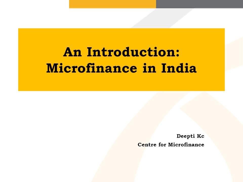 Is micro-credit enough.