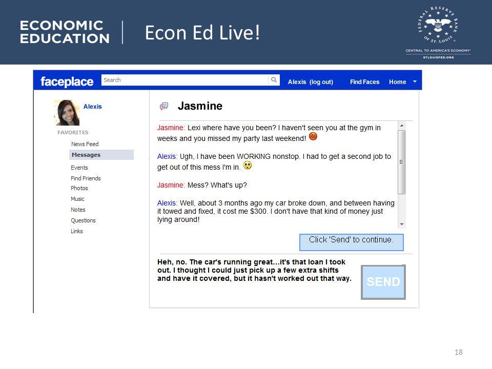 Personal Finance 101 Econ Ed Live! 18