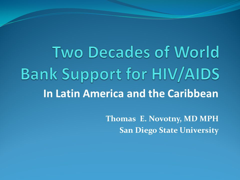 Spending and resource allocation to HIV Programs in LAC Source: Aran-Matero D. 2011