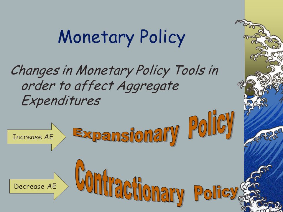 Monetary Policy Tools 1