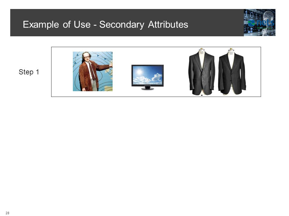 Example of Use - Secondary Attributes Step 1 28