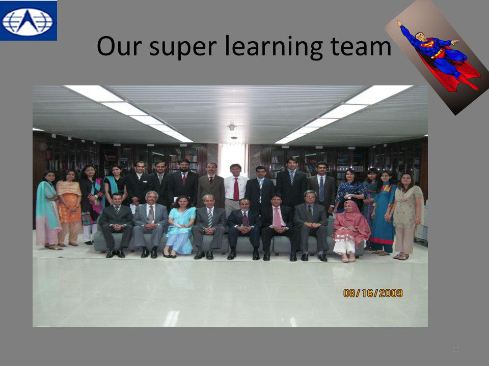 Our super learning team 11