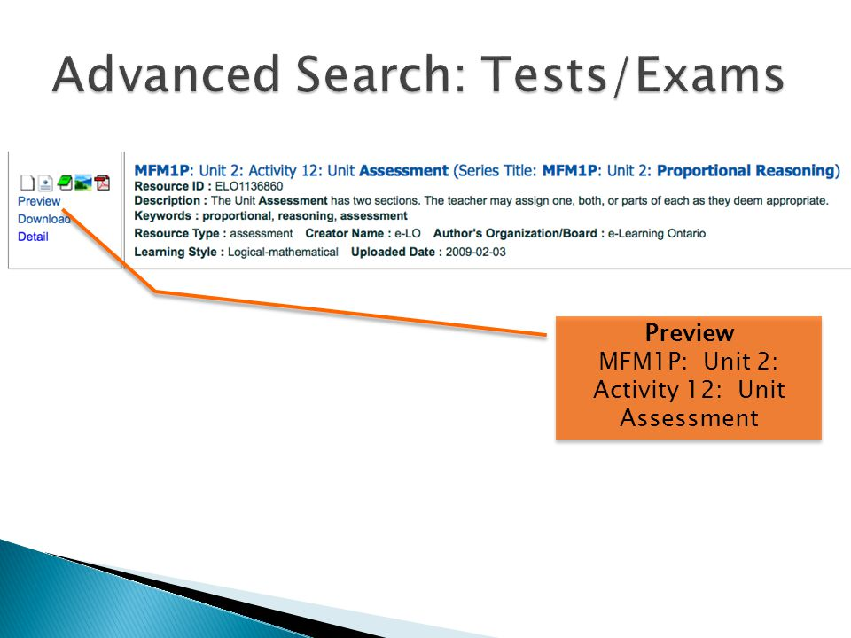 Preview MFM1P: Unit 2: Activity 12: Unit Assessment