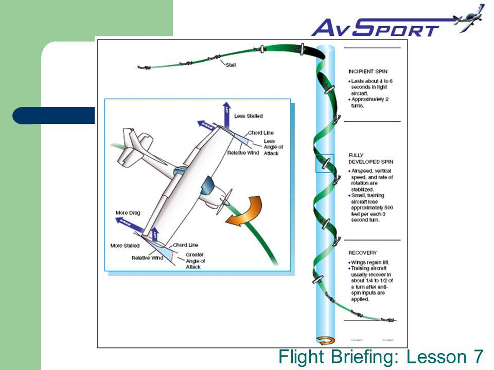 Flight Briefing: Lesson 7