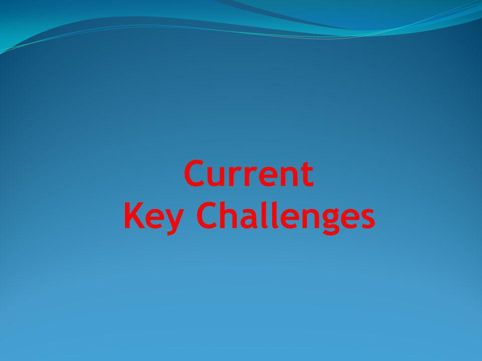 Current Key Challenges