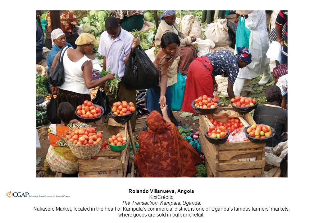 Rolando Villanueva, Angola KixiCrédito The Transaction.