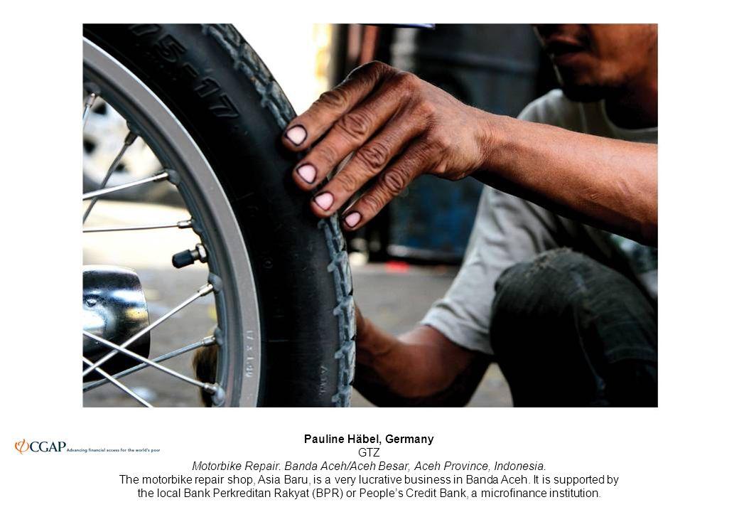Pauline Häbel, Germany GTZ Motorbike Repair. Banda Aceh/Aceh Besar, Aceh Province, Indonesia.