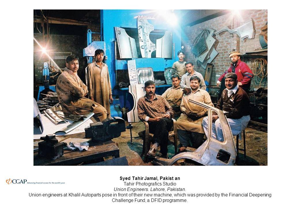 Syed Tahir Jamal, Pakist an Tahir Photografics Studio Union Engineers.