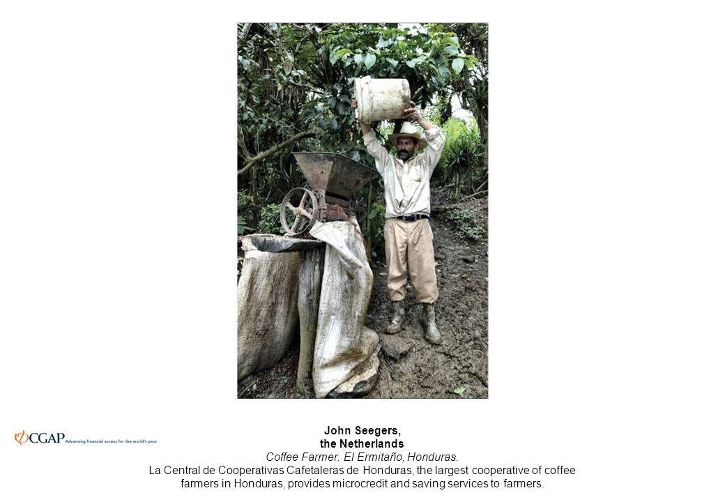 John Seegers, the Netherlands Coffee Farmer. El Ermitaño, Honduras.