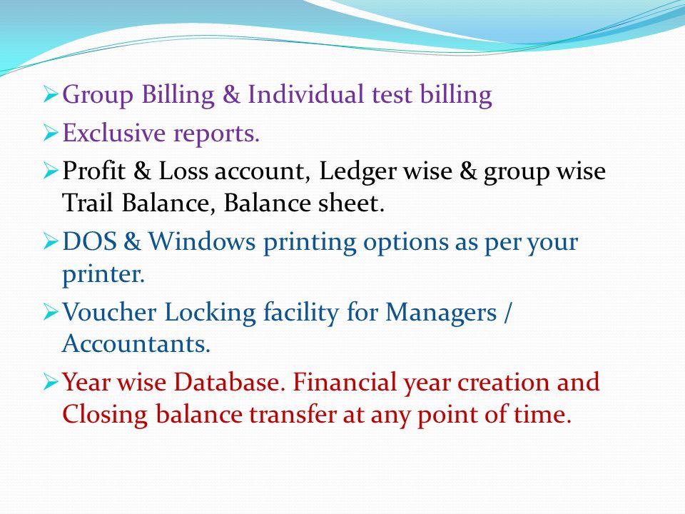 E-Count : LAB Management LAB Management : Test report generation & Billing.