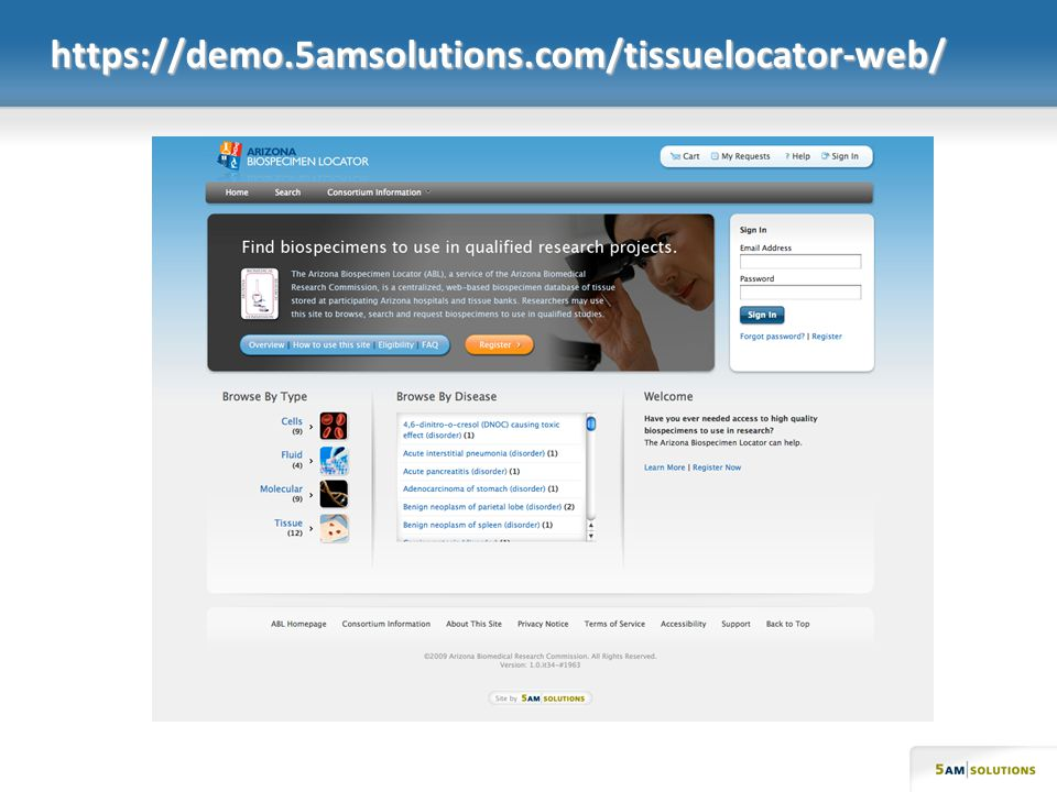 https://demo.5amsolutions.com/tissuelocator-web/