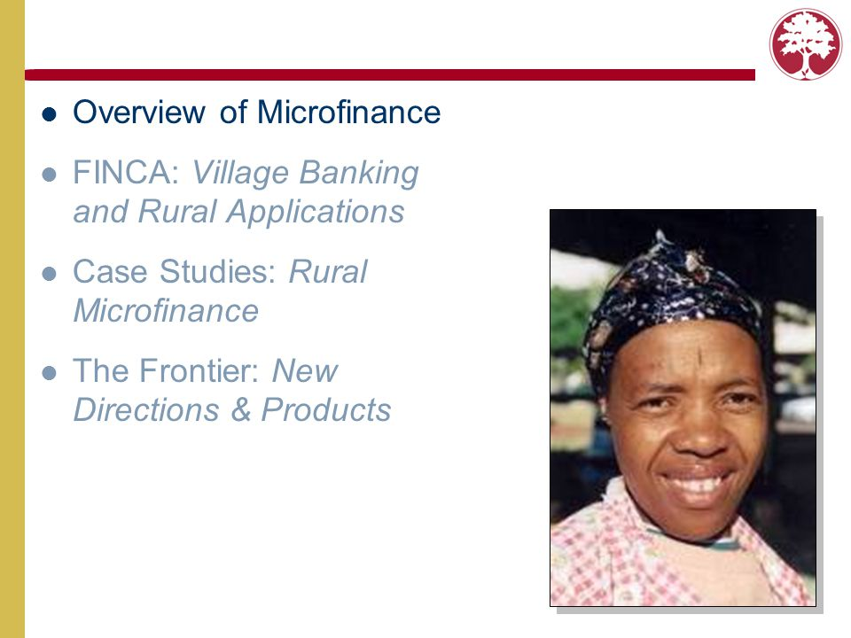 staple crop production Traditional Agricultural Lending Finances a specific commodity or growing activity.