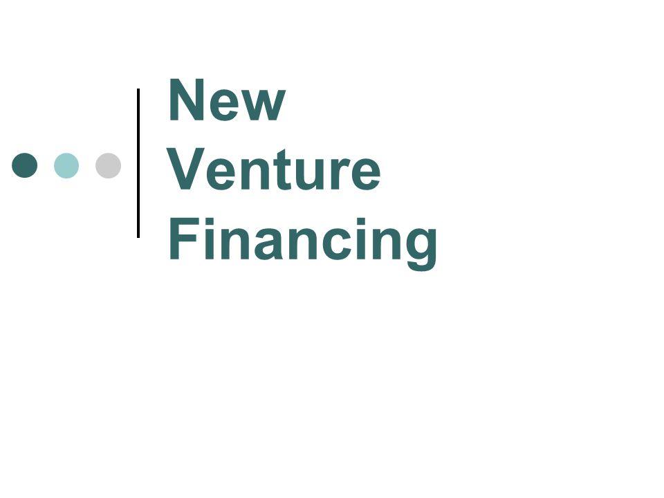 New Venture Financing