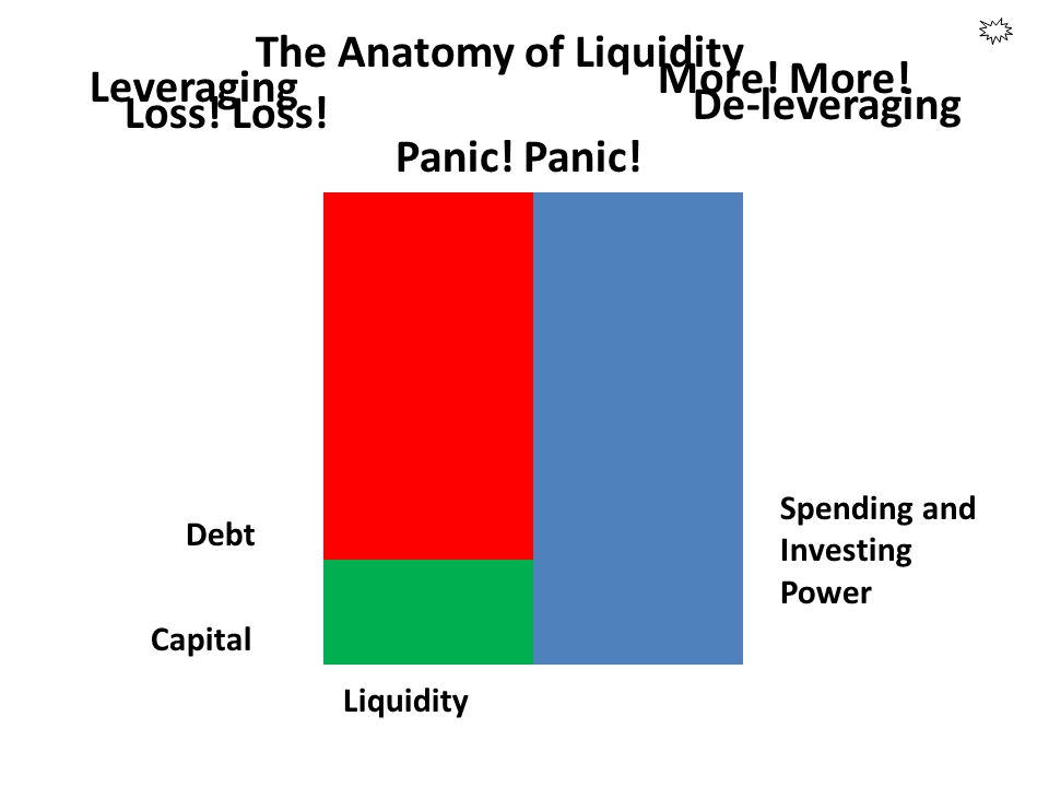 Debt Capital Liquidity Spending and Investing Power The Anatomy of Liquidity Leveraging De-leveraging Panic! More! Loss!