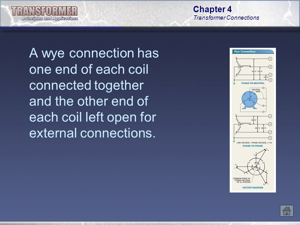 Chapter 4 Transformer Connections Studying the current in a delta-connected system at both 0° and 90° illustrates the current flow in a delta- connected system.