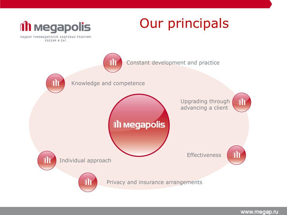 Our principals www.megap.ru