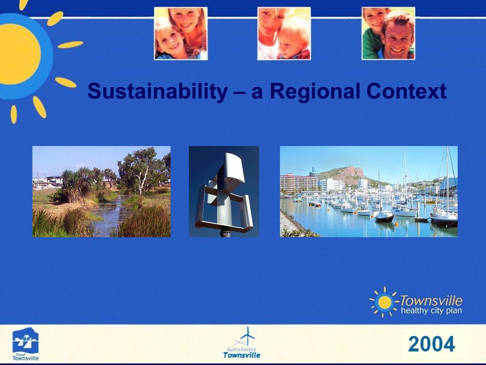 Sustainability – a Regional Context