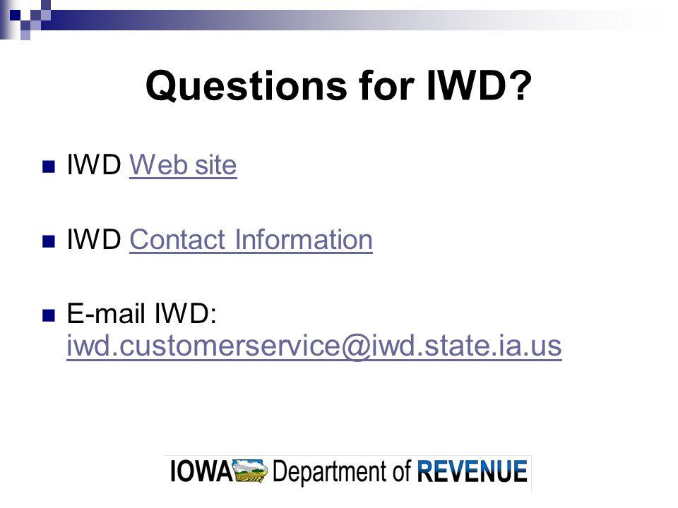 Other State of Iowa Contacts Iowa Department of Economic Development Iowa Secretary of State Iowa Department of Inspections & Appeals Iowa Department of Commerce Iowa Department of Transportation Iowa Department of Agriculture Iowa Department of Public Health