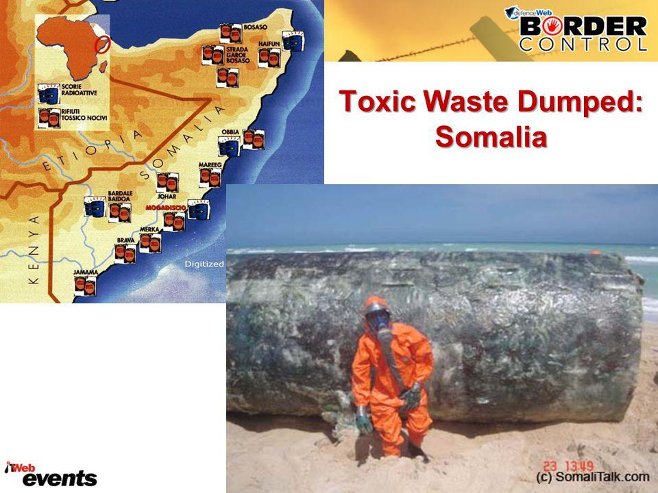 Toxic Waste Dumped: Somalia