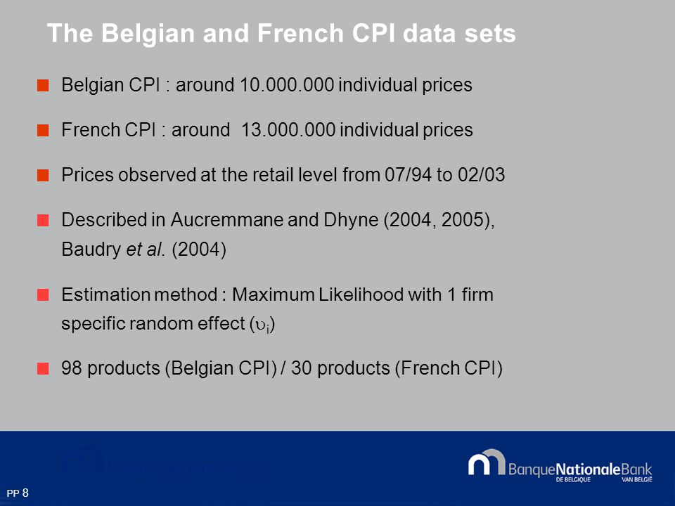 PP 9 Price trajectories: Oranges (Belgium)