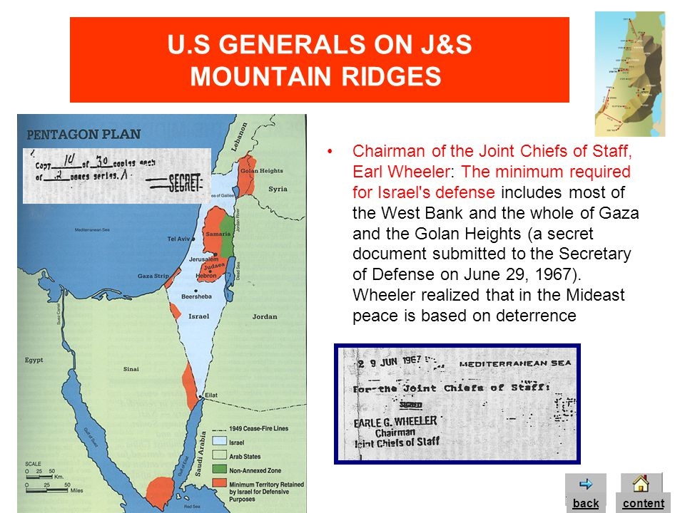 U.S GENERALS ON J&S MOUNTAIN RIDGES Lt.