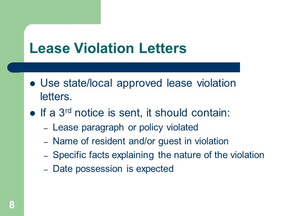19 Current Residents All checks should be made payable to the property (no 3 rd party checks).