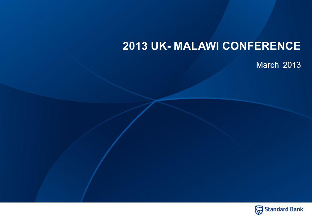 Private and confidential 2013 UK- MALAWI CONFERENCE March 2013