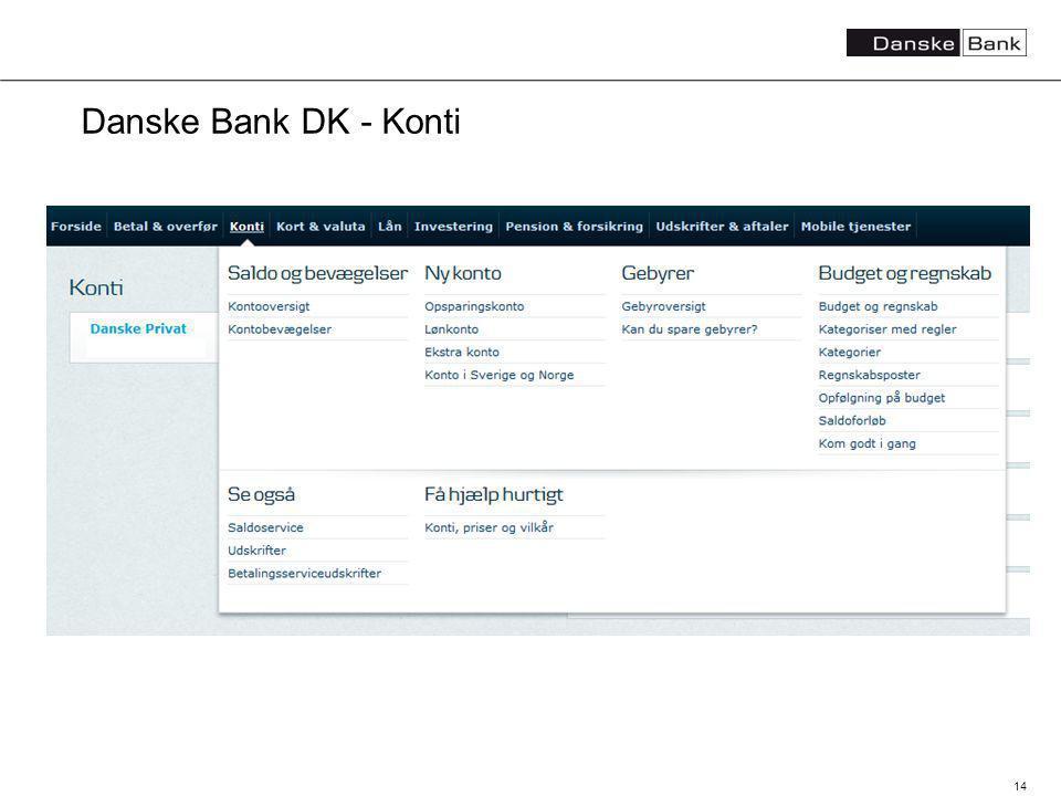 14 Danske Bank DK - Konti