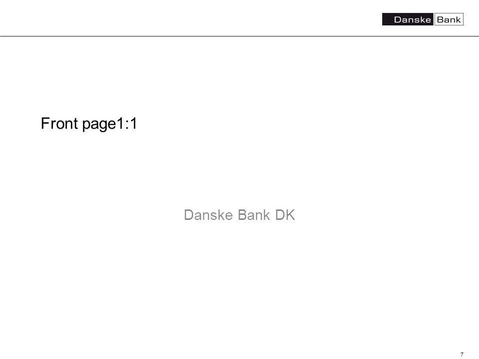 7 Front page1:1 Danske Bank DK