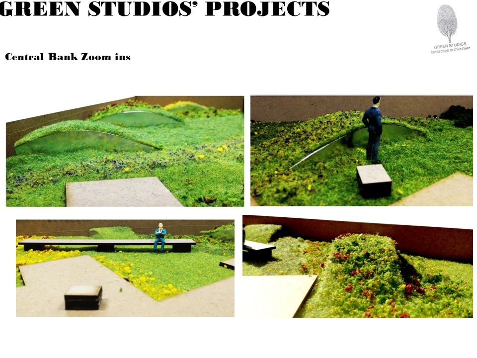 GREEN STUDIOS PROJECTS Central Bank Zoom ins