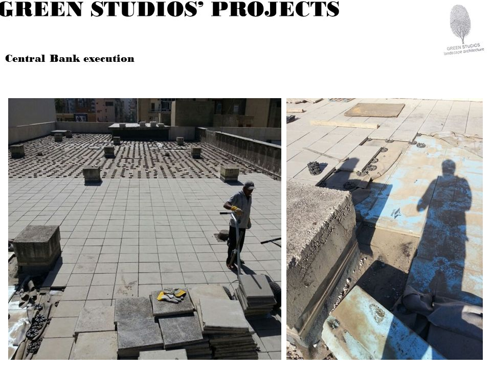 GREEN STUDIOS PROJECTS Central Bank execution