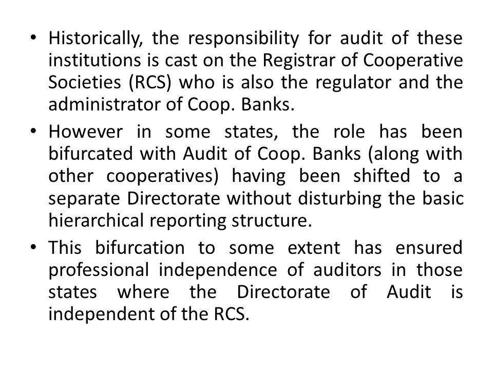 Audit in Banks.