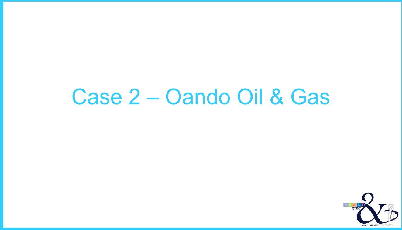 Case 2 – Oando Oil & Gas