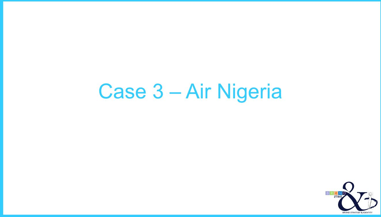 Case 3 – Air Nigeria