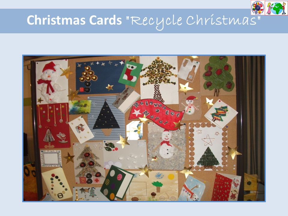 Christmas Cards Recycle Christmas