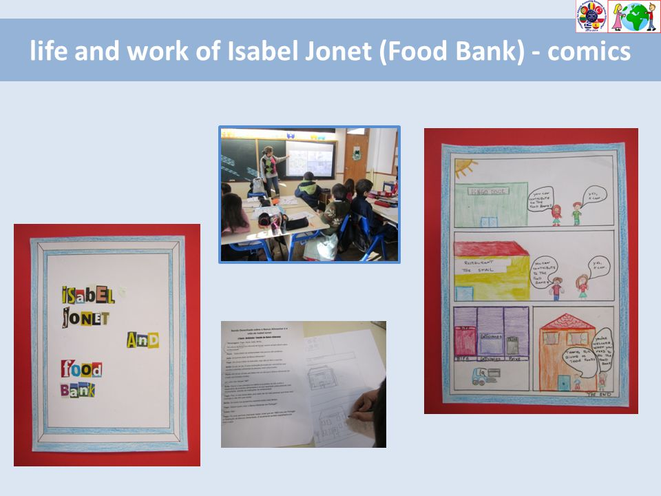 life and work of Isabel Jonet (Food Bank) - comics