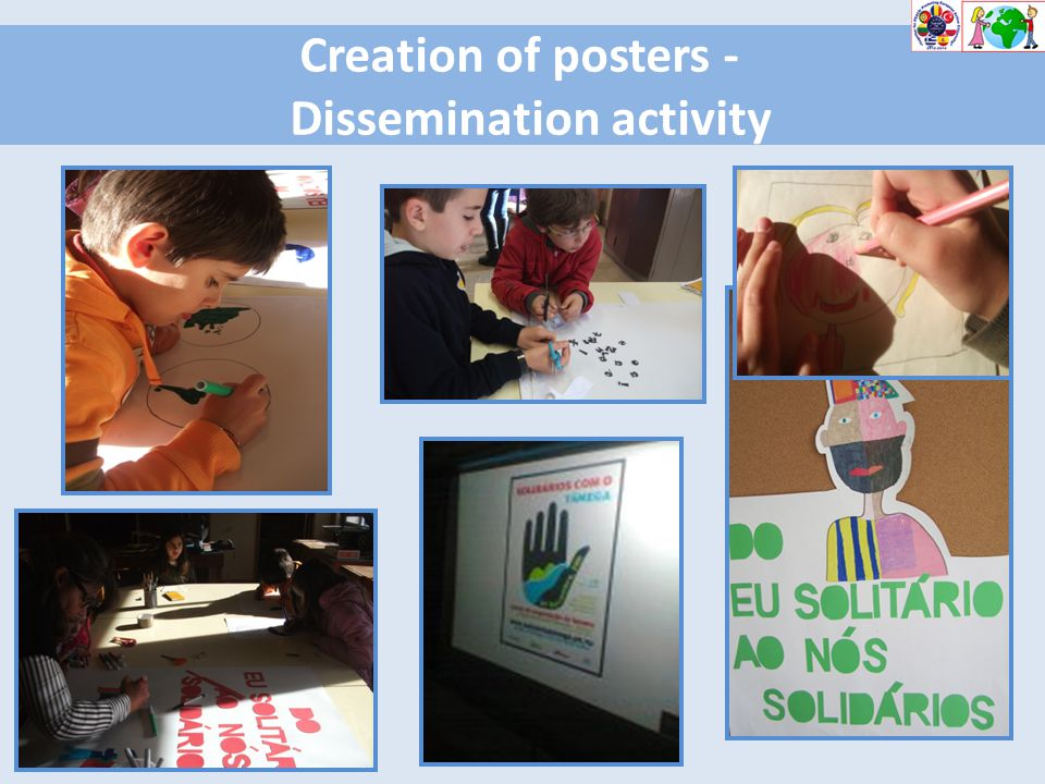 Creation of posters - Dissemination activity