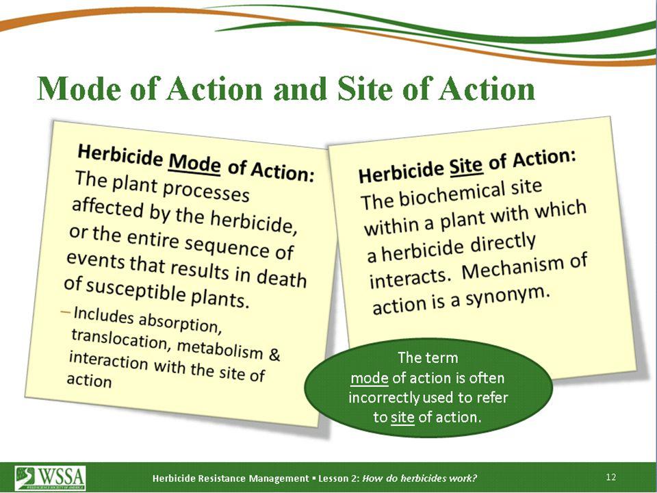 Herbicide Resistance Management (Reducing selection pressure) 1.